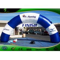 Buy cheap Semi Circle Inflatable Archway / Inflatable Finish Arch For Outdoor Racing Event product