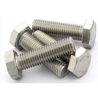 Buy cheap 24inch Length 12.9 Grade M8 45mm Screw , A193 Stainless Steel Hex Head Screws product