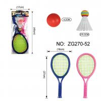 Buy cheap Badminton And Tennis Play Set Play Game Toy With Easy To Grip Colorful Rackets from wholesalers