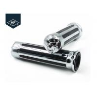 Buy cheap Skull Style Motorcycle Modification Parts Chormed Harley Davsion 25mm Handgrips product