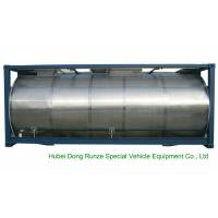 Buy cheap 316 Stainless Steel ISO Tank Container 20 FT For Wine / Fruit Juices / Vegetable Oils product