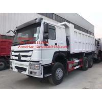 Buy cheap White color New Sinotruk howo7 Heavy Duty Dump Truck , 10 Wheeler 20 Tons 6x4 from wholesalers