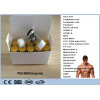 China Healthy Human Growth Hormone Peptide PEG-MGF 2mg / Vial Synonyms IGF-1 EC on sale