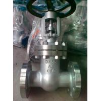 Buy cheap API 600 Class 300 Flanged Gate Valve , 4 OS & Y Gate Valve Stainless Steel product