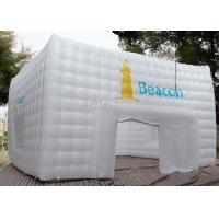 Buy cheap Large White Inflatable Cube Tent 420 D Oxford Cloth Apply To Trade Show product