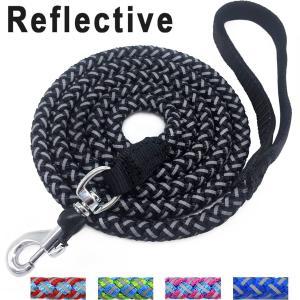 Buy cheap 6 Foot Nylon Rope Dog Leash , Reflective Dog Leash For Large / Medium Dogs product