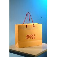 Buy cheap Real estate sales promotion paper bags with handles wholesale product