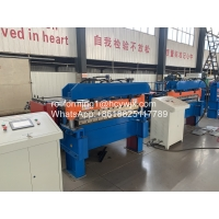 Buy cheap High Efficiency Metal Plate Cutting Machine With PLC Control 25m/Min product