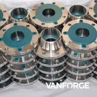 Buy cheap ASME SA182 PN16 Stainless Steel Weld Neck Flange , Forged Stainless Flanges product