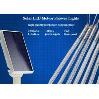 Buy cheap 10 Tubes Solar Powered Meteor Shower Lights String 50cm With EU / US Plug product
