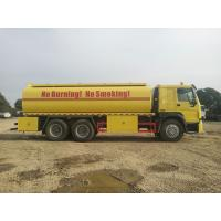 Buy cheap Industrial Fuel Oil Tanker Trailer / Radial Tyre Stainless Steel Tank Trailer from wholesalers