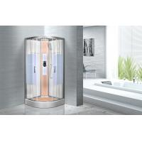 Buy cheap KPN2064 Customized Circle Glass Shower Cabin , Curved Corner Shower Units product