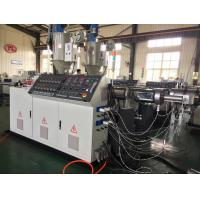 Buy cheap Stable HDPE Extruding Machine , Energy Saving PVC Extruder Machine from wholesalers