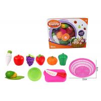 Buy cheap 12 Pcs Pretend Role Play Children's Play Toys for Kitchen Fruit Vegetable Cutting product