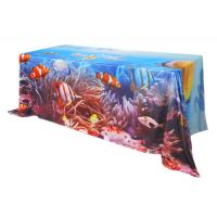 Buy cheap Custom Printing Trade Show Tablecloths 183 * 76 * H 74 Cm Furniture Suit product