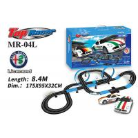 Buy cheap 1:64 Scale Analog System Licenced Toy Race Car Track Sets 13M Length Age 8 And Up Boys product