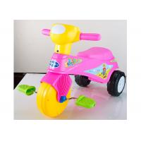 Buy cheap Colorful Plastic Kids Ride On Toys Tricycle Balance Sliding With Removable Pedal product