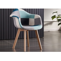 Buy cheap Household ODM OEM Modern Patchwork Dining Chair product