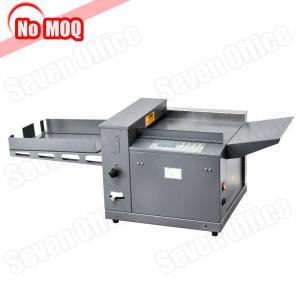 Buy cheap NO MOQ metal construction digital electric file paper creasing machine china manufacturer product
