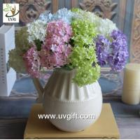 Buy cheap UVG FHY63 making hydrangea flowers artificial for wedding decorating and partying product