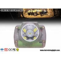 Buy cheap Safety Cordless Cap Lamp with Chargeable USB Charger , Msha Approved Coal Miner Headlamp product