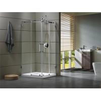 Buy cheap Corner Shower room 304 stainless steel Rail bar Material for bathroom 100X100X195/cm product