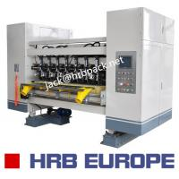 Buy cheap 03 Ply Corrugated Box Machine HRB-150-1800 Automatic 320mm Corrugated Roller product