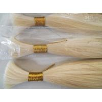 Buy cheap Double drawn human hair bulk product