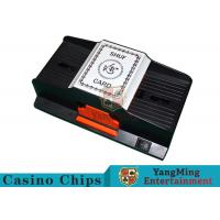 Buy cheap 1 - 2 Decks Playing Card Shuffler Suitable For Wide Plastic Poker Cards from wholesalers