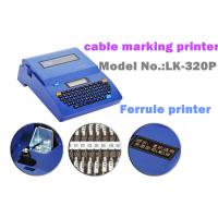 Buy cheap Auto Cutter wire labeling machine thermal barcode for petrochemical product