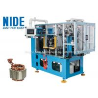Buy cheap 4 Stations Electric Motor Stator Wire Lace Machine / Blue Coil Lacer Machine from wholesalers