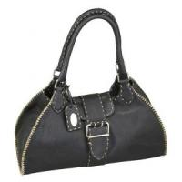 China 2012 new design man fashion bag Genuine leather handbag CS004-01 on sale