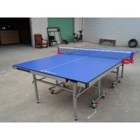 Buy cheap MDF Top And Edge Free Single Folding Ping Pong Table , Easy To Store Rackets And Balls from wholesalers