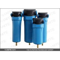 Buy cheap Energy Save Compressor air filter with Aluminium die casting cap from wholesalers