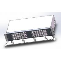 "Buy cheap 96 Cores Fiber Optic Termination Box Drawer Type 19""Subrack  Loaded With Duplex LC Adapters product"