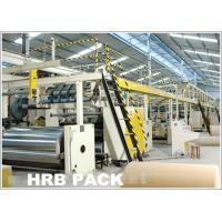 Buy cheap automatic 3 plant 5 plant 7 ply corrugated cardboard machine production line product