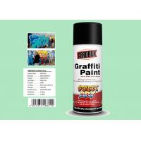 Buy cheap Fan Nozzle Graffiti Spray Paint Light Green Color For Wall Art APK-6601-11 product
