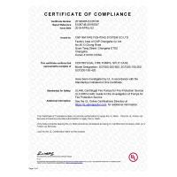Wuhan Spico Machinery & Electronics Co., Ltd. Certifications