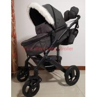 China 3 in 1 aluminum newborn winter baby buggy pram stroller pushchair for cold weather EN1888 on sale