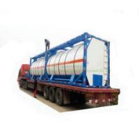 T4 ISO Heat Preservation Insulated Tank Container Bdp - Bisphenol a (diphenyl phosphate) Material S30408 / S30403 / S31603 Tank Inner or Outer Steam Coils