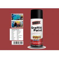Buy cheap Minibus Red Color Flexible Spray Paint Weather Resistance High Solid Content product
