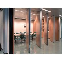 Buy cheap Sliding Movable Acoustic Room Dividers / Operable Wall Partitions product