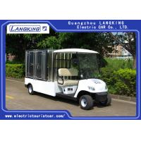 Buy cheap 2 Seater Electric Utility Carts , Electric Food Cart With Customized Cargo Box product