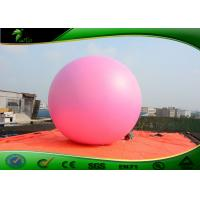 Buy cheap PVC Pink Inflatable Giant Balloon / Inflatable Advertising Helium Balloons For Events product