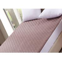 China Quilted Washable Mattress Protector For Memory Foam Mattress on sale