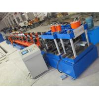 Buy cheap Standard C100-300 C Purlin Cold Roll Forming Machine With Post Punching And Cutting product