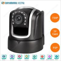 Buy cheap CMOS 720p Pan Tilt Remote Control Iphone Adroid Network Camera product