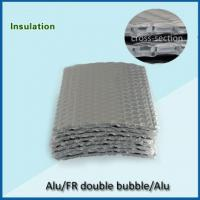 China double bubble 360gsm double sided aluminum foil backed insulation on sale