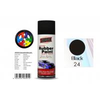 Buy cheap Head Light Black Color Rubber Coat Spray Paint For Wheel Brushing APK-8201-24 product