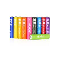 Buy cheap Rainbow 1000mAh Rechargeable Cell Batteries Pack 1200 Cycles with Battery Case product
